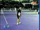 Roger Federer destroyed Gaston Gaudio on Masters Cup 2005