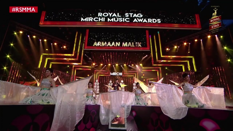 Armaan Malik complete uncut perfomance at Royal Stag Mirchi Music Awards _ RSMM