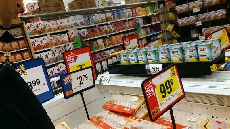 Baltimore grocery store GIANT - продуктовый магазин GIANT
