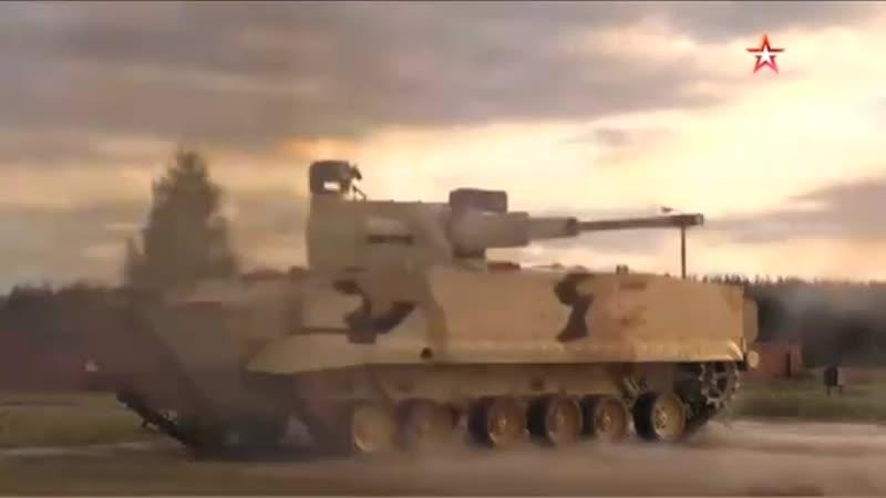 «Звезда» публикует кадры стрельбы новейшей российской 57-миллиметровой автоматической пушки — боевого модуля АУ-220М
