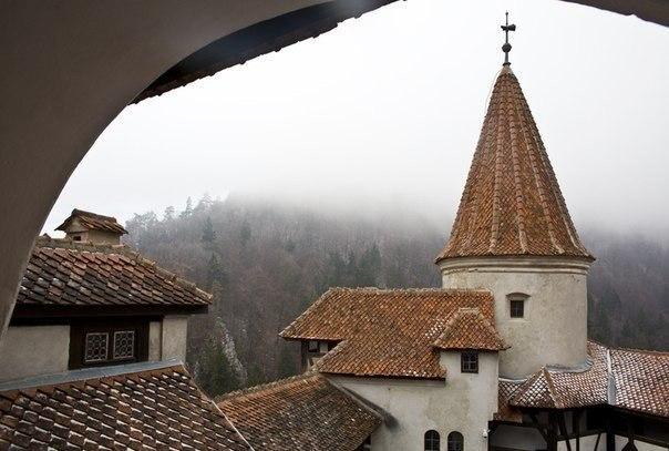 Замок Бран - убежище Дракулы.