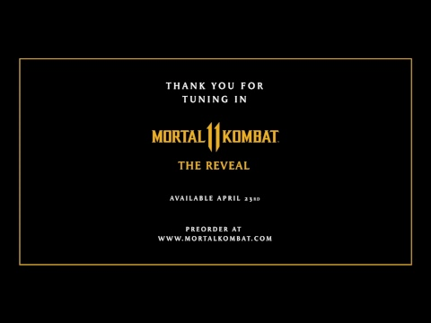 Mortal Kombat 11: The Reveal - THIS LIVE STREAM MAY INCLUDE CONTENT INAPPROPRIATE FOR CHILDREN