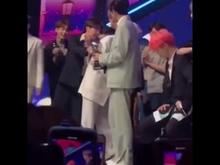 jimin grabbed yoongis wrist,,,, and piggy backs him. the way this videos making me feel things