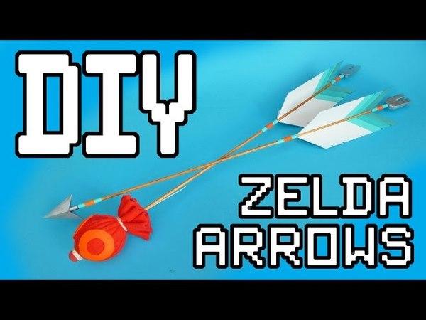 Zelda: Breath Of The Wild Arrows DIY Tutorial