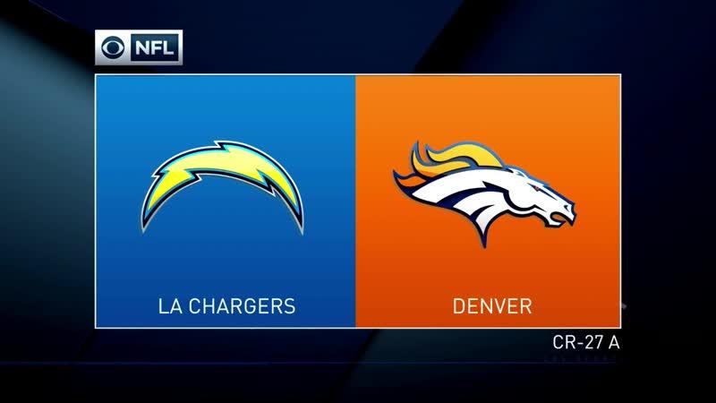 NFL 2018 / Week 17 / Los Angeles Chargers - Denver Broncos / 2H / EN