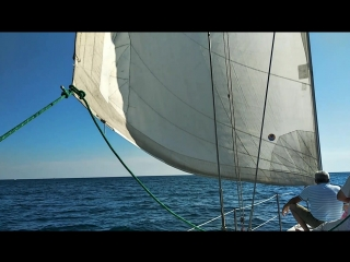 Прогулка под парусом, яхта Ника.