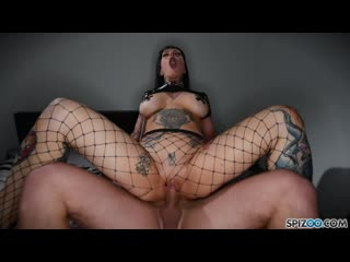 Jessie Lee Gets Caged(Big Tits, Blowjob, Busty, Cumshot, Doggystyle, Face fuck, Gonzo, Pornstar, Rough Sex, Spanking )