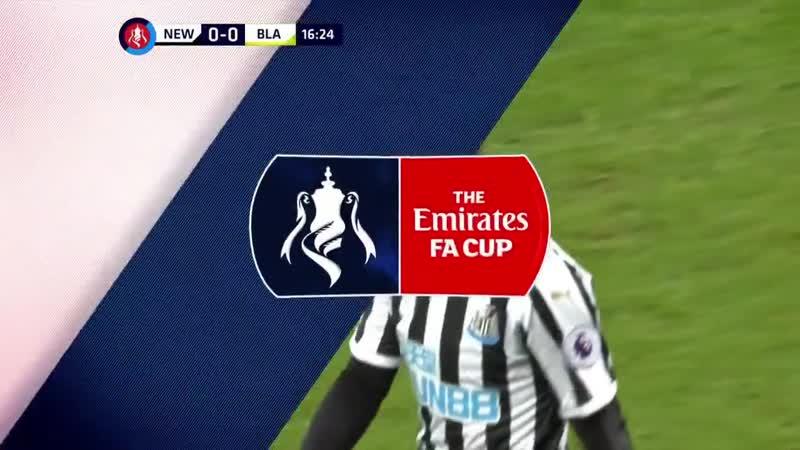 Кубок Англии Ньюкасл - Блэкберн Роверс 1-й тайм