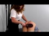 Monica Spanked for Slacking Off and Improper Uniform__part 2