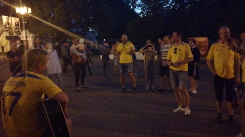 Шведы реквизировали гитару и жгут Покра ЧМ по футболу 2018