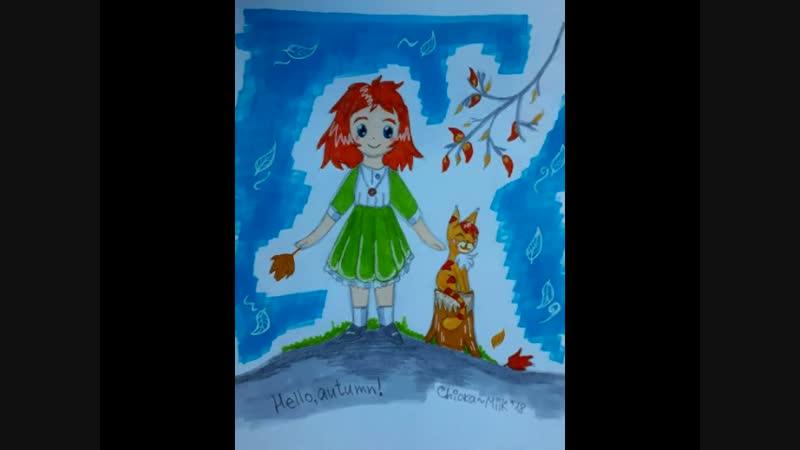 Маленькая волшебница Чиока. 3 серия