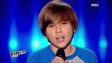 The Voice Kids France 2014 Hugo - Place des grands hommes (Patrick Bruel) Blind Audition