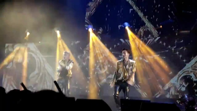 [VK][23.06.18][Fancam] The 2nd World Tour The Connect In Madrid (Versace On The Floor)