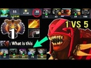 EPIC NEW TOP 1 MMR 1v5 DEF Crazy Fast Bloodseeker vs Ursa Mid by Miracle- Impossible Comeback Dota 2