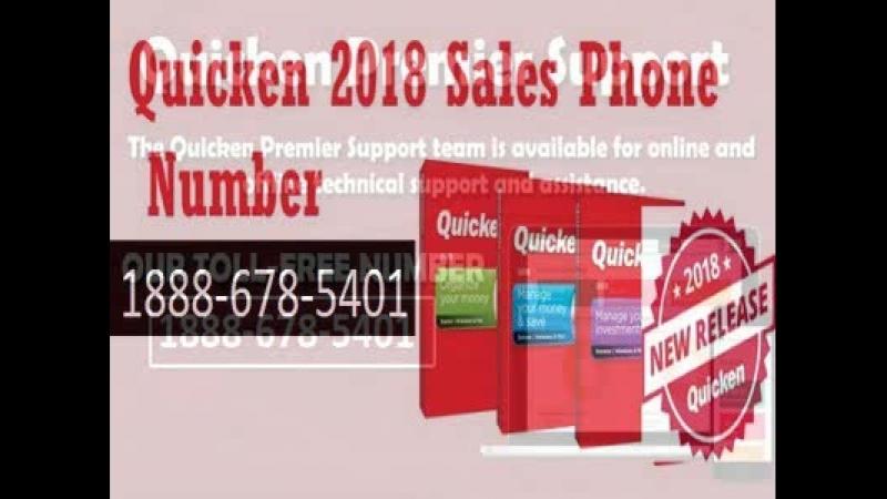 Intuit quicken customer support phone number 888~678~5401