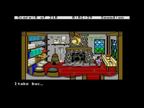 Kings quest 3 - to heir is human for Atari ST