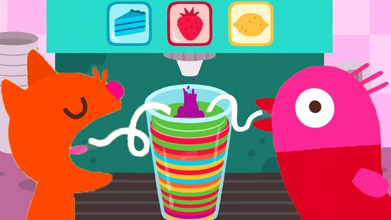 Play Learn Colors, Numbers Shapes Games - Sago Mini World - Fun Pet Care Learning Games For Kids