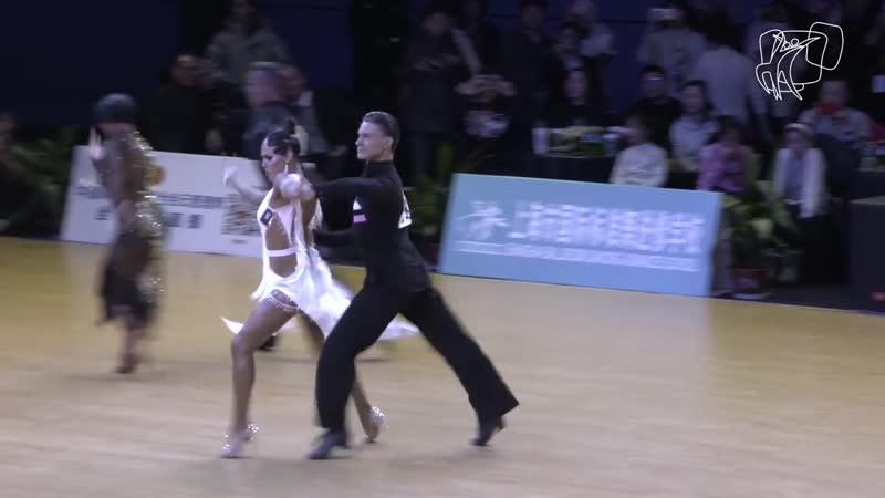 Gusev - Bondareva, RUS ¦ 2018 GrandSlam LAT Shanghai ¦ R1 S