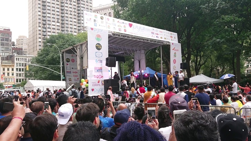 India Day Parade 2018 - New York City NYC - Shruti Hassan - Unedited Real Sounds