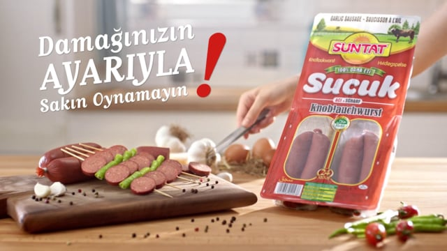 Suntat 24 Ayar - Garlic Sausages (short)