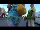 SEXY GIRL BIG POPA Сексуальная девушка в платье FULL HD 1080. art TWO.08.18.