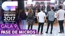 HOY PUEDE SER UN GRAN DÍA - GRUPAL | Primer pase de micros para la GALA 9 | OT 2017
