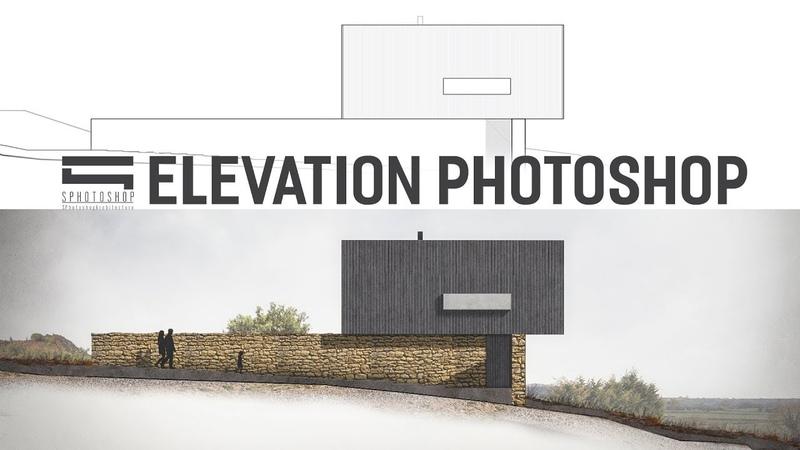 Рендер фасада в Photoshop