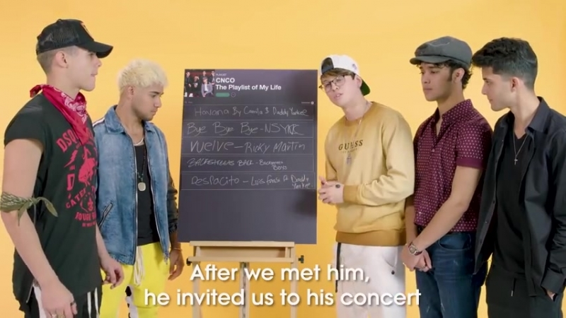CNCO Create the Playlist to Their Lives ¦ Teen Vogue