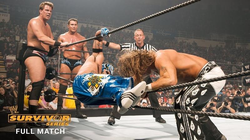 FULL MATCH - Team Raw vs. Team SmackDown - 5-on-5 Elimination Match: Survivor Series 2005