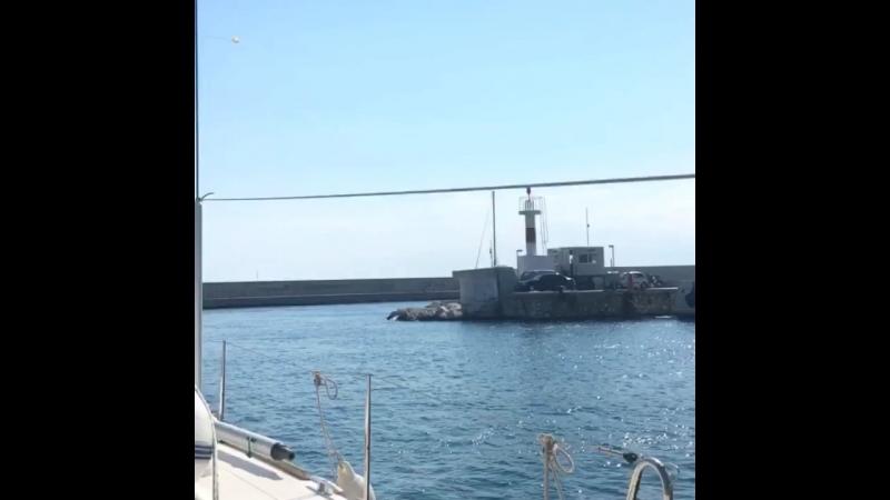 исторический момент - первый выход яхты «Comrade» под греческим флагом ivasailing