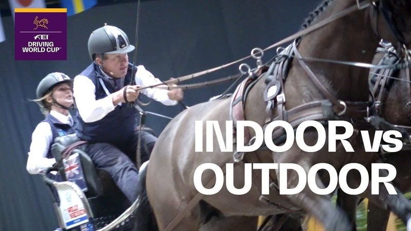 Indoor vs. Outdoor Driving - Boyd Exell explains what matters | Rider in Focus