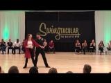 Swingtacular Invitational JnJ 2017 - Ben Morris and Alyssa Glanville 2nd Place