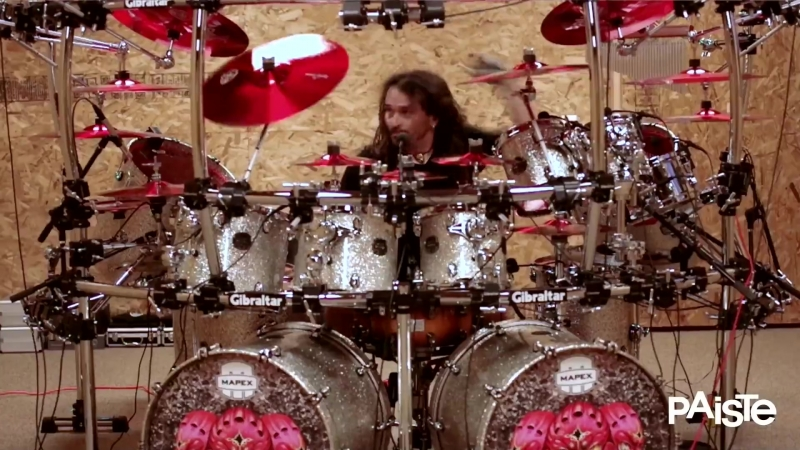 Aquiles Priesters new Color Sound 900 Cymbal Set (English)