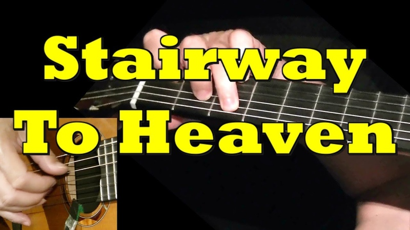 STAIRWAY TO HEAVEN: Guitar Lesson TAB by GuitarNick