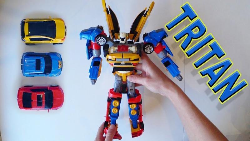 Тобот Тритан трансформер обзор игрушек