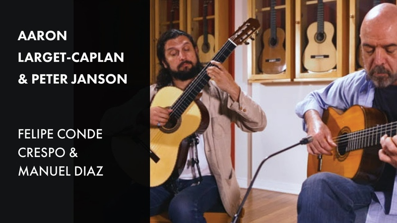 Aranjuez for 2 Guitars Aaron Larget Caplan Peter Janson