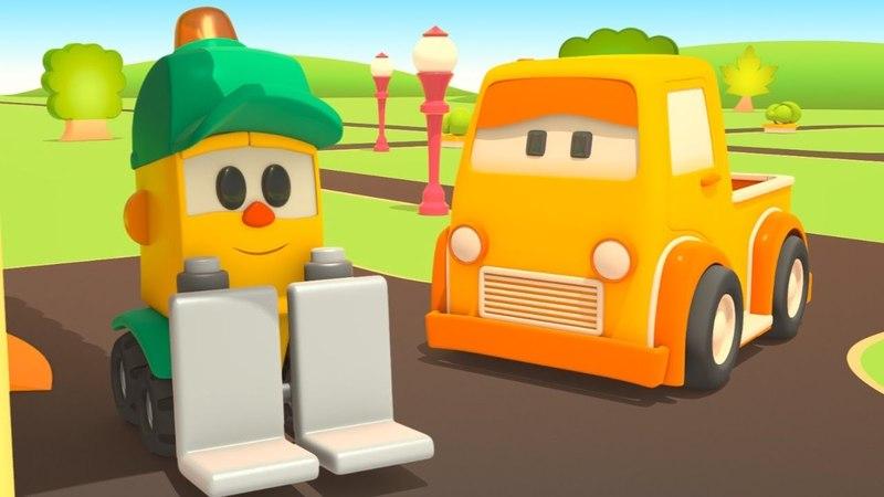Negozio di Lifty: Una ruota bucata! Camion sulla strada in soccorso!