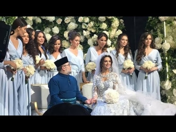Роскошная свадьба короля Малайзии и русской модели в подмосковной Барвихе