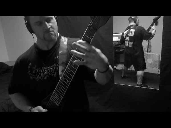 Hour of Penance- Iron Fist Cover by Kevin Frasard on BC Rich Custom 7-String Jr. V