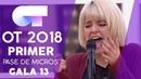 CREEP - ALBA RECHE | PRIMER PASE DE MICROS GALA 13 | OT 2018