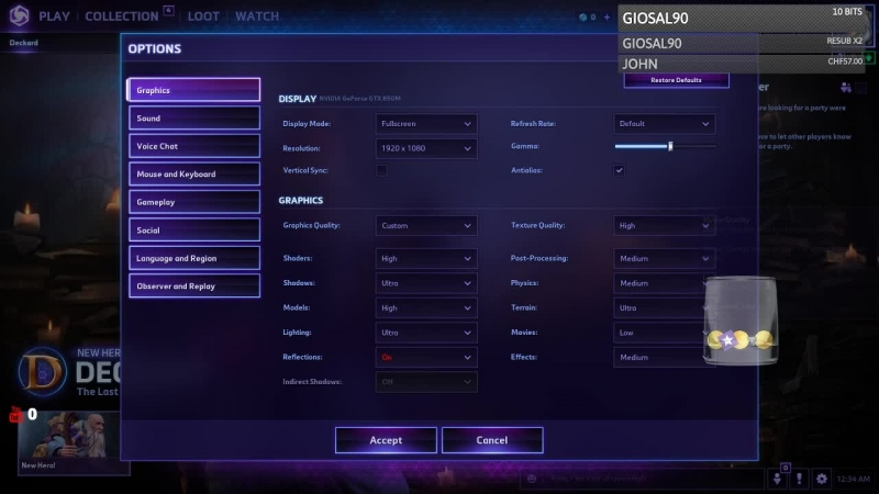 Heroes of the Storm live - www.twitch.tv/giosal90