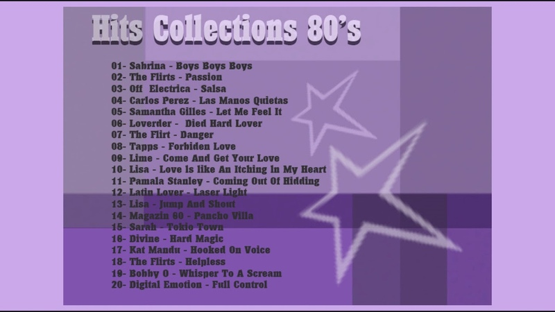 Hits Collections 80's High Energy