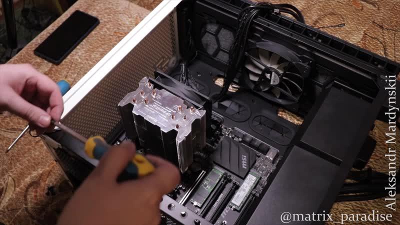 Собираю свой СВЕРХМОЩНЫЙ ПК в новый корпус Corsair Carbide Series Clear 400C Compact