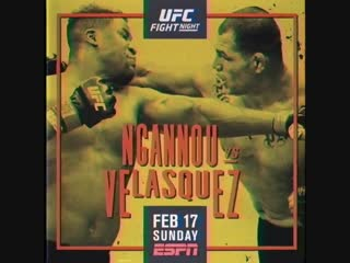FIGHT WEEK!! - - @Francis_Ngannou vs @CainMMA SUNDAY Feb. 17 LIVE FREE for the FIRST. TIME. on @ESPN! UFCPhoenix