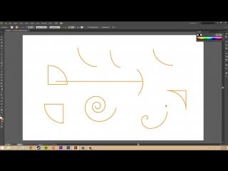 Adobe Illustrator CS6 for Beginners - Tutorial 24 - Spirals and Arcs