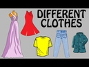 What Do You Wear Different Types Of Clothes For Kids Basic English Lessons English Vocabulary