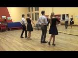 Схема танца Менуэт