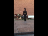 Смена караула на могиле безымянного солдата