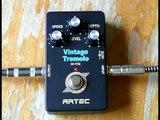 Artec Vintage Tremolo Effects Pedal - SE-VTM