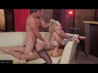 Bonnie rotten & xander corvus & tony rivas [ group &  anal &  in stockings &  double penetration / deep blowjob , ass , tattoo ,